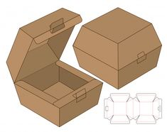Find Box Packaging Die Cut Template Design stock images in HD and millions of other royalty-free stock photos, illustrations and vectors in the Shutterstock collection. Diy Paper, Paper Art, Paper Crafts, Foam Crafts, Diy Gift Box, Diy Box, Gift Boxes, Paper Box Template, Origami Templates