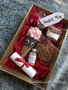 Details about Christmas Eve Box. Letter to Santa, Hot Chocolate, activity sheet, Magic key – Best Christmas Eve Christmas Eve Box For Kids, Xmas Eve Boxes, Christmas Eve Box Fillers, Christmas Hamper, Christmas Gift Box, Homemade Christmas Gifts, Christmas Time, Christmas Crafts, Christmas Decorations