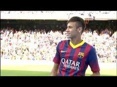 FOOTBALL -  FC Barcelona - Los primeros toques de Neymar en el Camp Nou - http://lefootball.fr/fc-barcelona-los-primeros-toques-de-neymar-en-el-camp-nou/