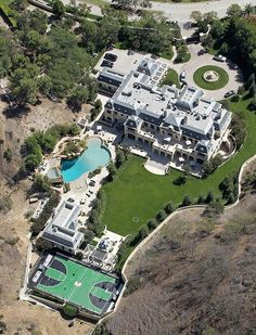 Mark Wahlberg home, Los Angeles, Beverly Park