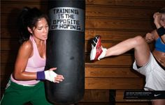 training is the opposite of hoping