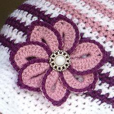 Ravelry: Croco Flower pattern by Bonita Patterns