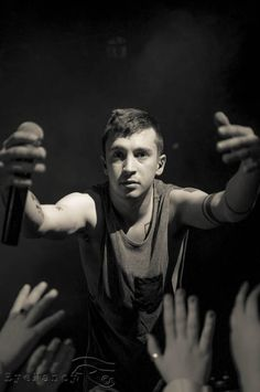 Tyler Joseph.. oh, you reaching for a hug? Alright cool :)