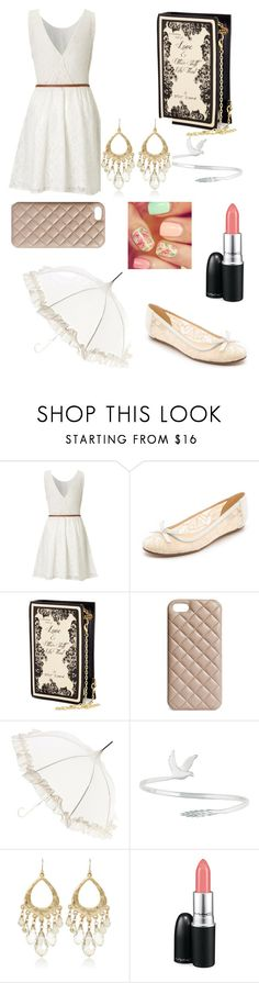 """""""bo ho chic"""" by nessawhite ❤ liked on Polyvore featuring Lipsy, Kate Spade, Betsey Johnson, The Case Factory, Lisbeth Dahl, CHARLES & KEITH, White House Black Market and MAC Cosmetics"""
