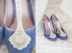 Blue Wedding Shoes, A Short Dress And Tipis For A Humanist Celebration On The Beach | Love My Dress® UK Wedding Blog