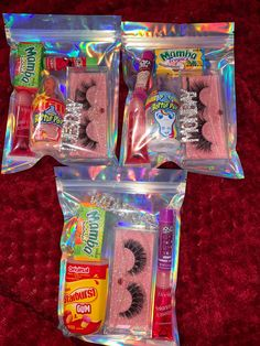 This package has some of my Top Quality and Lashes, a GlamGloss, a random Hair Pin, chapstick and lots of sweets! Glitter Lip Gloss, Diy Lip Gloss, Diy Birthday, Birthday Gifts, 18th Birthday Party, Friend Birthday, Lip Gloss Homemade, Business Baby, Business Ideas