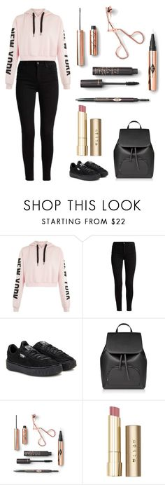 """Untitled #10"" by merve-hotkid on Polyvore featuring Puma and Stila"