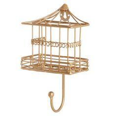 Nightingale Wall Hook (Gold)