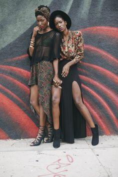 JOC_CENT$ — blackandkillingit: tashleexstyleme: Twin models...