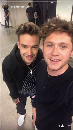 June 24, 2017 Niall and Liam together