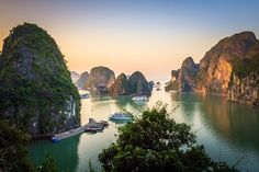 Don't miss the cruise trip at #halongbay #vietnam for your journey to Southeast Asia this Autumn at http://goasiadaytrip.com/blog/let-visit-southeast-asia-this-autumn.html