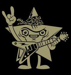 RockStars by Rubens Scarelli, via Behance
