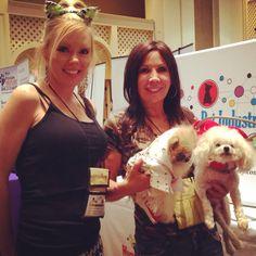 Saw @Shanna Olson and at #blogpaws reception