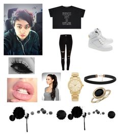 """""""Michael Inspired Outfit."""" by gracilayne on Polyvore featuring Moschino, Michael Kors, Blue Nile, women's clothing, women, female, woman, misses and juniors"""