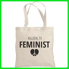 Feminist Killeen, TX Tote Bag: Liberty Bargain Tote Bag - Shoulder bags (*Amazon Partner-Link)