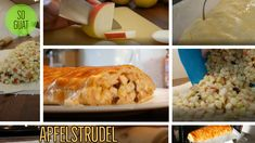 #apfelstrudel #tinkerhits Baking, Apple Strudel, Bakken, Backen, Sweets, Pastries, Roast