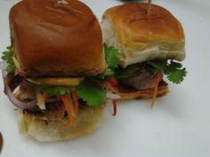 Bahn Mi Sliders on Hawaiian Bread - $5