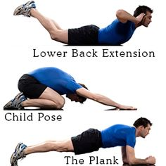 Lower back exercises... I can dig it !!!!!