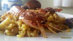 Arròs de crustacis al forn