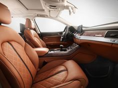 Audi A8 L W12 with exclusive interiors featuring Italian leather Read more at http://www.rushlane.com/audi-a8-l-w12-with-exclusive-1296046.html#yJPCfi8HexOQH6Jw.99