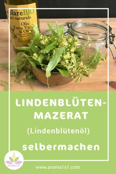 Du kannst Lindenblütenöl ganz einfach selbermachen. Du brauchst nur Lindenblüten, ein gutes Pflanzenöl und ein Glasgefäß. Ich verwende Lindenblütenöl (als Mazerat) gerne als pflegenden Zusatz in meinen Gesichts- oder Körperölen. Hier zeige ich dir Schritt-für-Schritt, wie's geht! Herbal Essences, Healthy Oils, Healing Herbs, Natural Cosmetics, Aloe Vera, Makeup Tips, Herbalism, Healthy Living, Health Fitness
