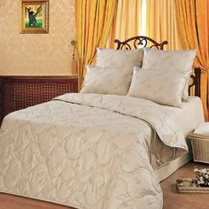 Bedroom set Winter wool camel, wool sheep. The top is 100% cotton. #NoBrend