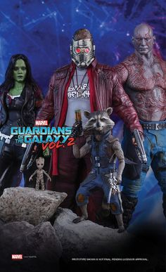 Hot Toys Teases Guardians of the Galaxy 2 Figures - Cosmic Book News