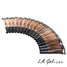 All Shades of LA Girl Pro Conceal
