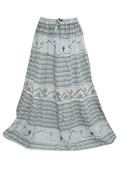 Womans Maxi Skirts Bohemian Medieval Gray Embroidered Vin... https://www.amazon.com/dp/B01N227KHI/ref=cm_sw_r_pi_dp_x_DMOIybJY5165D