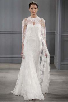 Bridal Collection Monique Lhuillier Spring 2014