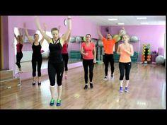 (23) Тренинг: КАК ЛЕГКО СЖЕЧЬ 600 ккал !! - YouTube