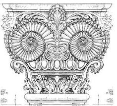 Customized Column Capital - Mere Belle Project