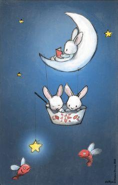 Le Lapin Dans la Lune (Delphine Doreau)