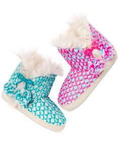 Jenni Knit Slipper Booties