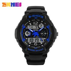 SKMEI Brand Children Sports Watches 50m Waterproof Fashion Casual Quartz Digital Watch Boys Girl LED Multifunction Wristwatches Like if you remember #shop #beauty #Woman's fashion #Products #Watch