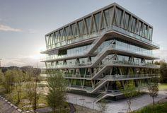Christian Kerez, Leonardo Finotti, Walter Mair · School Building in Leutschenbach. Zurich, Switzerland · Divisare