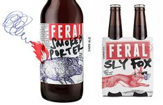 Feral Brewing Company is an independent brewery that tasked Block branding to re-brand Feral. The results are that of a craft, bold and beautiful...