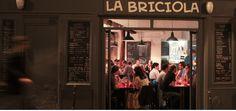 La Briciola Pizza napoletana 64 rue Charlot, Paris