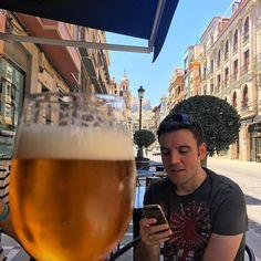 #Cerveza #Sábado #Jaén y @cgsamaniego