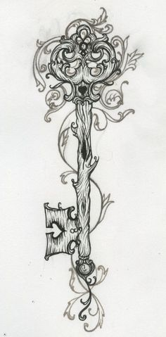 I.Really.Love.This! | Tattoo Ideas Central to finish the heart lock and key on my right thigh