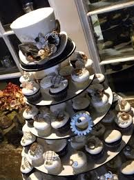 steampunk book wedding cake - Pesquisa Google