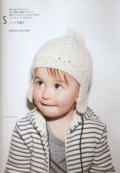 Baby Clothes and Komono Zakka - Japanese Crochet & Sewing Pattern Book for Babies - Kazue Nakanishi - B1040