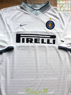 f77d6a5757 Relive Internazionale s 2000 2001 season with this vintage Nike away  football shirt. Vintage Football