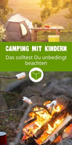 Camping mit Kindern: So wird es zum Abenteuer für die ganze Familie Camping and getting around with children does not always have to be stressful. Here are a few tips on how the camping trip with the whole family is guaranteed to become a hit. Camping 101, Camping Supplies, Camping Checklist, Camping Essentials, Camping Meals, Family Camping, Outdoor Camping, Camping Stuff, Camping Jokes