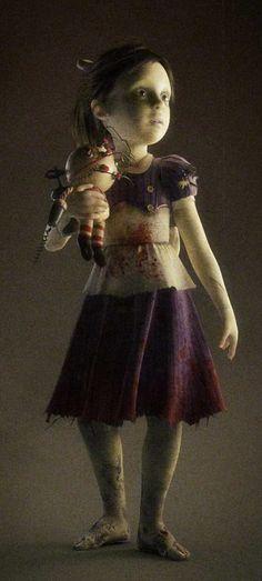 BE WARNED!!!!!! FRIGHTENING PICTURE! BioShock 2 little sister