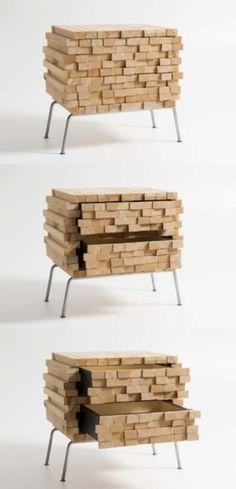 By  Anna Ovchinnikova: mysterious stacks