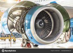 Aeroplane Engine, Aviation Technology, Turbine Engine, Jet Engine, Birds In Flight, Aircraft, Engineering, Stock Photos, Rv