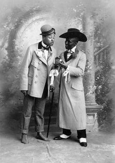 George Walker and Bert Williams  http://songbook1.wordpress.com/pp/fx/african-american-musical-theater-1896-1926/bert-williams-george-walker-and-aida-overton-walker/aida-overton-walker-slide-show-and-gallery/#jp-carousel-90125