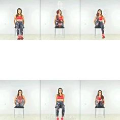 Fitness Workouts, Gym Workout Videos, Gym Workout For Beginners, Beginner Workouts, Fitness Workout For Women, Toning Workouts, Body Fitness, At Home Workouts, Fitness Tips
