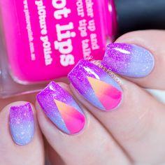 Picture Polish Nail Art Challenge - Gradient Nails